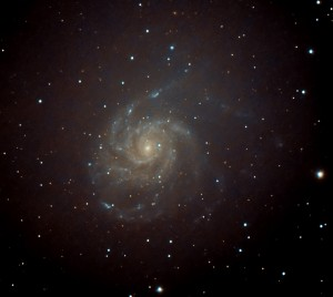 Messier 101 - The Pinwheel Galaxy