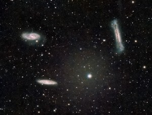 Messier 65 and the Leo Triplet