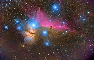 Horsehead (Barnard 33) and Flame (NGC 2024)