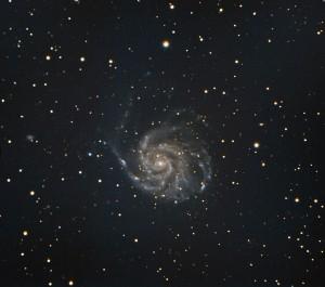 M101 in LRGB